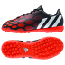 adidas Youth Predito Instinct Turf Soccer Shoes (Black/White/Red)