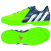 adidas Youth Predito Instinct Turf Shoes (Bright Green/Navy)