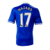 adidas Youth Chelsea Hazard #17 Soccer Jersey (Home 2013/14)