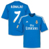 adidas  Real Madrid Ronaldo #7 Soccer Jersey (Away 2013/14)