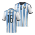 adidas Argentina Aguero #16 World Cup 2014 Soccer Jersey (Home)
