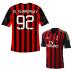 adidas AC Milan  El Shaarawy #92 Soccer Jersey (Home 2013/14)