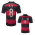 adidas  Germany  Ozil #8 World Cup 2014 Soccer Jersey (Away)