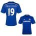 adidas  Chelsea  Diego Costa #19 Soccer Jersey (Home 2014/15)