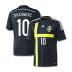 adidas  Sweden Ibrahimovic #10 Soccer Jersey (Away 2014/15) - SALE: $107.50