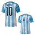 adidas  Argentina  Messi #10 Soccer Jersey (Home 2015/16)