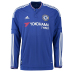 adidas Chelsea Long Sleeve Soccer Jersey (Home 2015/16)