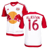 adidas  NY Red Bulls  Kljestan #16 Jersey (Home 16/17)