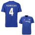 adidas Chelsea Fabregas  #4 Soccer Jersey (Home 2015/16)