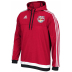 adidas  NY Red Bulls Anthem Soccer Hoody (Red/White/Navy)