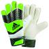 adidas Youth  Predator Fingersave Soccer Goalkeeper Glove (Green)