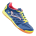 Joma Super Regate 303 Indoor Soccer Shoes (Navy/Neon)