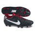 Nike Tiempo Natural IV LTR FG Soccer Shoes (Black/White/Red)
