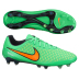 Nike Magista  Opus FG Soccer Shoes (Poison Green/Orange)