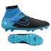 Nike  Magista  Obra Leather FG Soccer Shoes (Black/Turquoise) - $299.99
