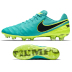 Nike  Tiempo Legend   VI FG Soccer Shoes (Clear Jade/Volt)