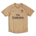 Nike Arsenal Pre-Match Soccer Training Jersey (2007/08)