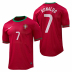 Nike  Portugal Ronaldo #7 Authentic Soccer Jersey (Home 2012/13)