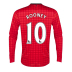 Nike  Manchester United Rooney LS Soccer Jersey (Home 2012/13)