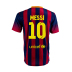 Nike  Barcelona  Messi  #10 Soccer Jersey (Home 2013/14) - SALE: $99.50