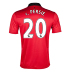 Nike  Manchester United  van Persie #20 Soccer Jersey (Home 2013/14)