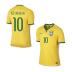 Nike  Brasil / Brazil  Neymar #10 World Cup 2014 Soccer Jersey (Home) - SALE: $94.50