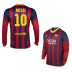 Nike  Barcelona Messi  #10 Long Sleeve Soccer Jersey (Home 2013/14) - SALE: $109.50