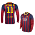 Nike  Barcelona Neymar  #11 Long Sleeve Soccer Jersey (Home 2013/14) - SALE: $109.50