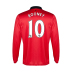 Nike Manchester United Rooney #10 LS Soccer Jersey (Home 2013/14)