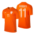 Nike  Holland  Robben #11 World Cup 2014 Soccer Jersey (Home)