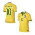 Nike Youth  Brasil Neymar #10 World Cup 2014 Soccer Jersey (Home)