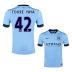 Nike   Manchester City  Yaya Toure #42 Soccer Jersey (Home 2014/15) - SALE: $104.50