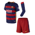 Nike Young Boy Barcelona  Soccer Jersey Mini Kit (Home 2015/16)