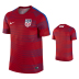 Nike  USA  Flash Premium Soccer Training Jersey (Red)