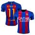 Nike  Barcelona   Neymar #11 Jersey (Home Logo 16/17)
