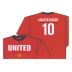 Nike Manchester United Van Nistelrooy #10 Long Sleeve Hero Tee