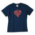 Nike Youth Mia Hamm Heart #9 Soccer Tee (Navy)