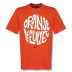 Nike Holland World Cup 2010 Back Of Crest Soccer Tee (Orange)