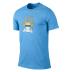 Nike Manchester City Core Basic Crest Soccer Tee