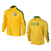 Nike Youth Brasil / Brazil Authentic N98 Soccer Track Top  - SALE: $74.50