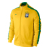 Nike Brasil / Brazil World Cup 2014 Authentic N98 Soccer Track Top (Yellow)