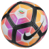 Nike  Ordem  4 Serie A Match Soccer Ball (Purple/Orange/Pink)