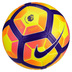 Nike  Ordem  4 PL Hi-Vis Match Soccer Ball (Yellow/Purple)