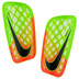 Nike Mercurial Flylite Soccer Shinguard (Green/Hyper Orange)