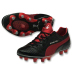 Puma  King Finale SL I FG Soccer Shoes (Black/Red)