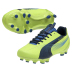 Puma Womens evoSpeed 4.2 FG Soccer Shoes (Yellow/Blue)