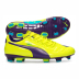 Puma evoPower 3 FG Soccer Shoes (Yellow)