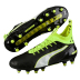 Puma   evoTOUCH  Pro FG Soccer Shoes (Black/Safety Yellow)
