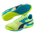 Puma  Invicto Sala Indoor Soccer Shoes (Safety Yellow)