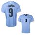 Puma Uruguay Suarez #9 Soccer Jersey (Home 2014/16)